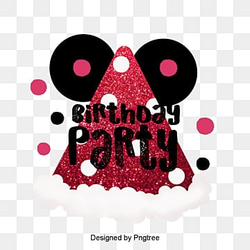 Cute Cartoon Birthday Party Celebrating Hand-painted Font Design, Cartoon, Lovely, Typeface PNG and PSD