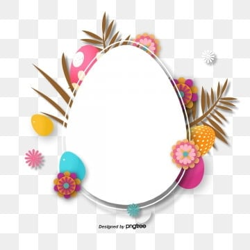 creative background elements of easter stereo paper cut, Rabbit, Resurrection Rabbit, Easter PNG and PSD
