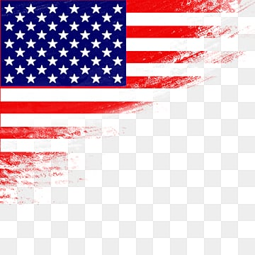 simple american flag, Cartoon, Illustration, Flag PNG and PSD