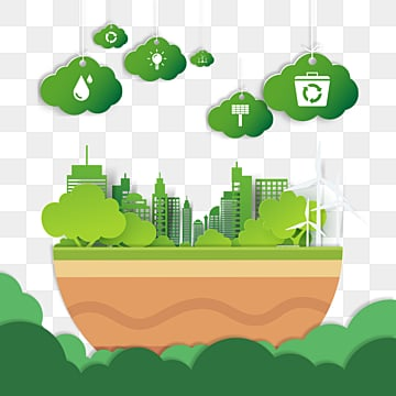 background of earth day paper cut, Flaky Clouds, Protect The Earth,  PNG and PSD