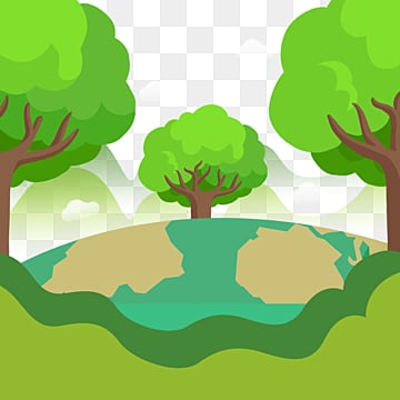 background of earth day paper cut, Protect The Earth, Paper-cut, Cartoon PNG and PSD