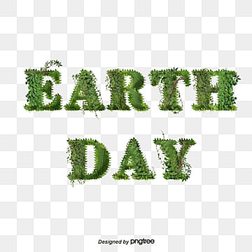 Earth Day Green Simple Leaf Vine Font Fonts
