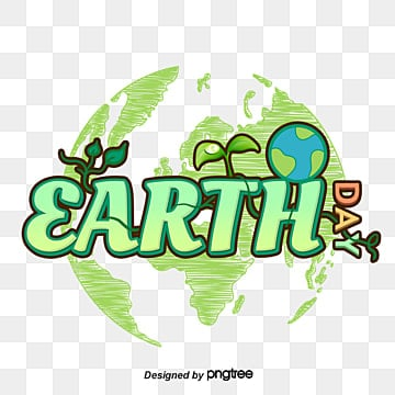Green Earth Day Art Font Fonts