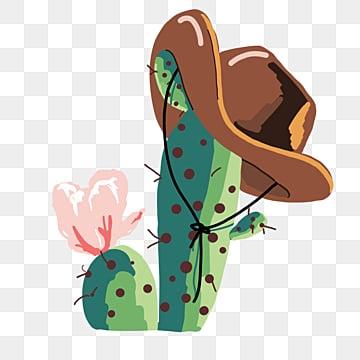 Cactus cowboy. Clipart images png format