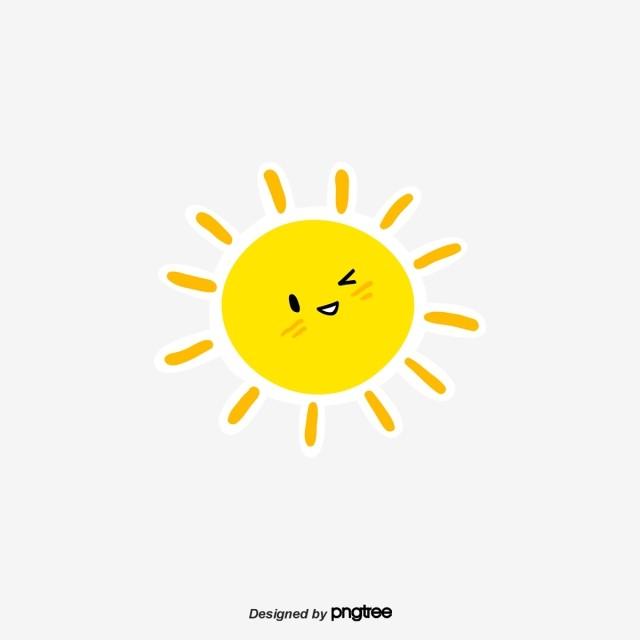 Cartoon Cute Sun, Cartoon, Lovely, Sunlight PNG ...