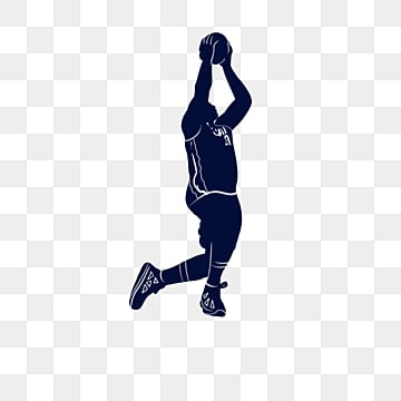 silhouette creative players play basketball, Sports, Silhouette, Cartoon PNG and PSD