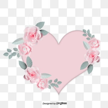 pink stereo flowers love mothers day elements, Element, Mothers Day, Heart Love PNG and PSD