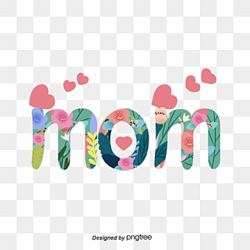 hand painted mom font Fonts