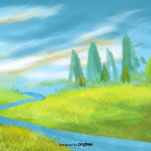 Download 10100+ Background Awan Lukisan HD Paling Keren
