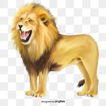 roaring lion king element, Element, Fierce And Fierce, Animal PNG and PSD