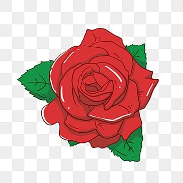 وردة مع الشوك ارتفع أحمر البتلة نبات Png صورة للتحميل مجانا