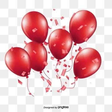 birthday balloon colorful festival balloon elements, Cartoon Balloon, Balloon, Balloon Stereo PNG and PSD