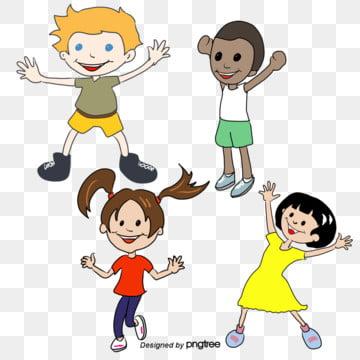 Gambar Anak Anak Kegembiraan Untuk Banyak Orang Orang Kartun Anak Laki Laki Perempuan Png Vektor Psd Dan Untuk Muat Turun Percuma Pngtree