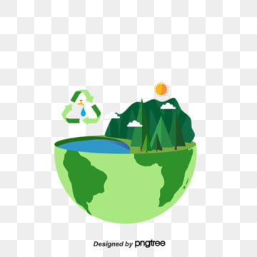 Green Life Protection Water Resources Environmental Protection Elements, Protect, Element, Earth PNG and PSD