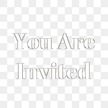 29+ You're Invited Png  JPG