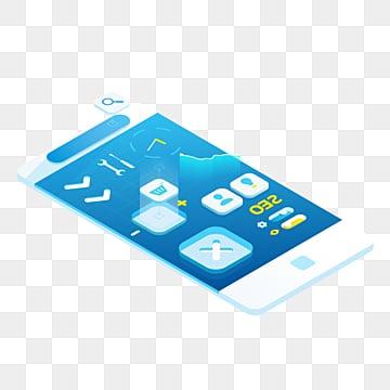 smartphone elemente in 3d technologiehandy grafik stil png und psd