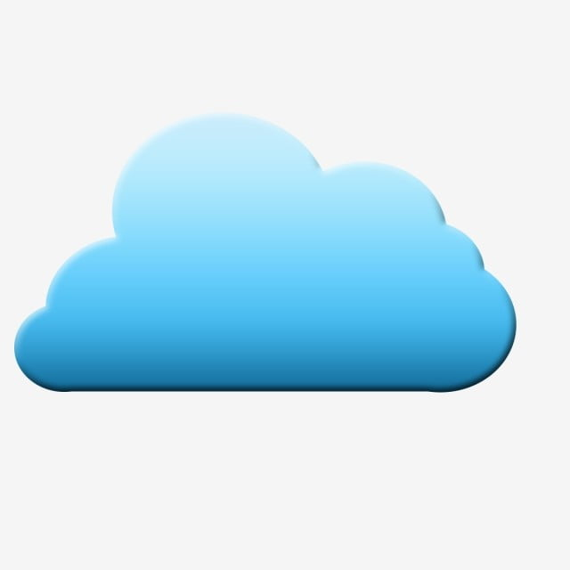 Blue 3d Clouds Clipart Vector, Download, Free, Clouds PNG ...