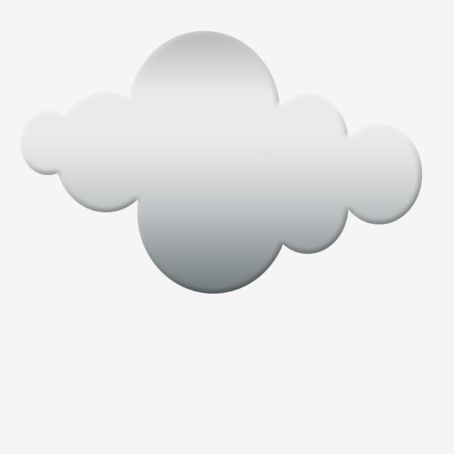 Dark Grey Clouds Clipart Vector, Download, Free, Clouds PNG
