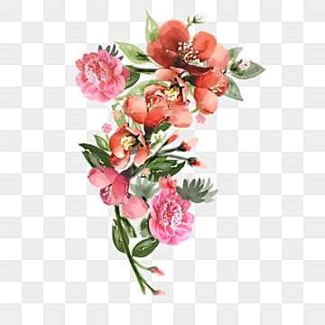 Fiori Png.Un Bouquet Di Fiori In Mano Png Vettori Psd E Clipart Per Il