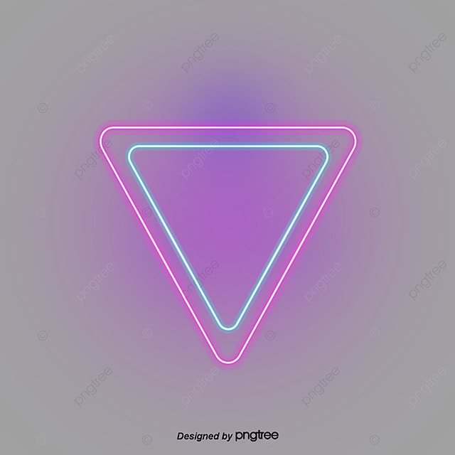 warna neon efek perbatasan segitiga segi tiga warna efek lampu png transparan gambar clipart dan file psd untuk unduh gratis warna neon efek perbatasan segitiga