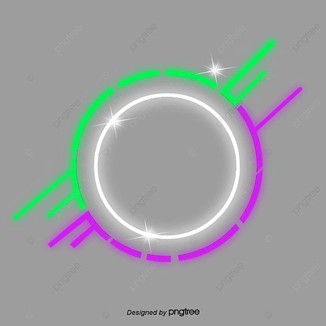 Fine Lighting Effect Border Element Frame Lighting Lamp Effect Png Wiring Digital Resources Jonipongeslowmaporg