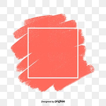 simple coral orange border elements living coral coral, Element, Creative, Orange Red PNG and PSD