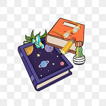 creative book universe reading day, World Reading Day, Book, Element PNG and PSD