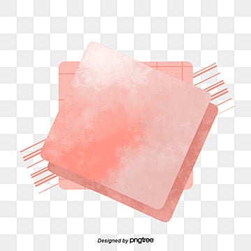 Simple Creative Coral Pink Square Elements living coral,coral, Square, Stripe, Soft Pale PNG and PSD