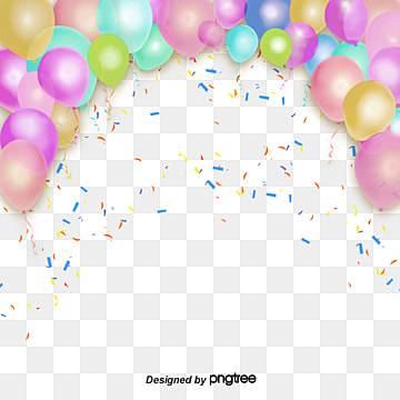 Stereo Dream Color Floating Balloon Frame, Element, Coloured Ribbon, Color PNG and PSD