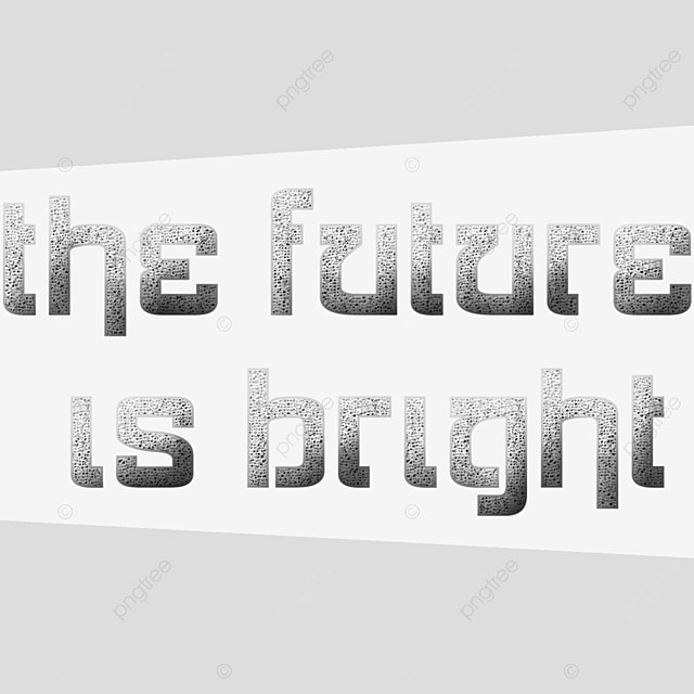 The Future Is Bright Art Font For Free Download