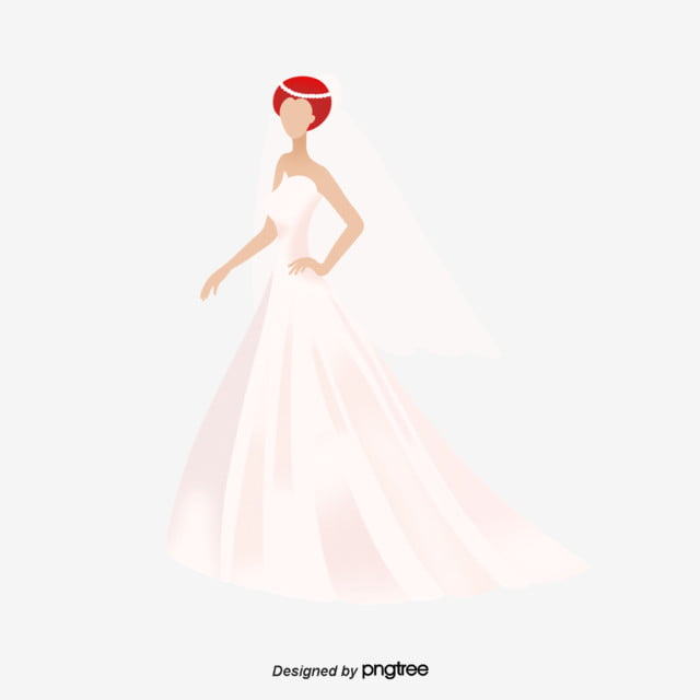 cffba3bb0 العروس الزفاف الأبيض الأنيق أنيق الزفاف فستان الزفاف PNG وملف PSD ...