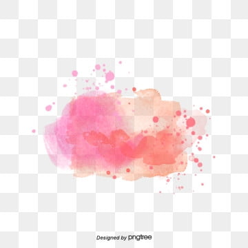 pink watercolor splashjavascript:;, Element, Spatter, Orange PNG and PSD