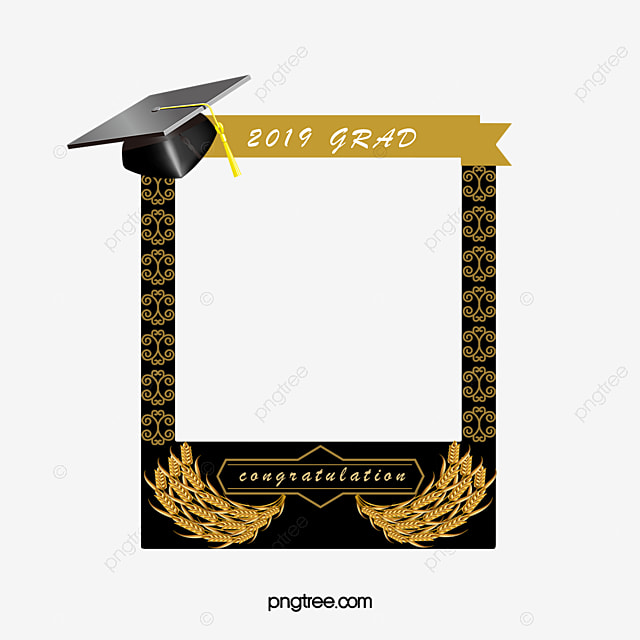 graduation photo border for 2019  2019  graduation