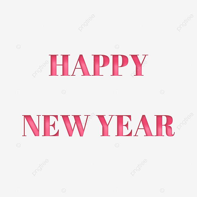 Happy New Year Font 57