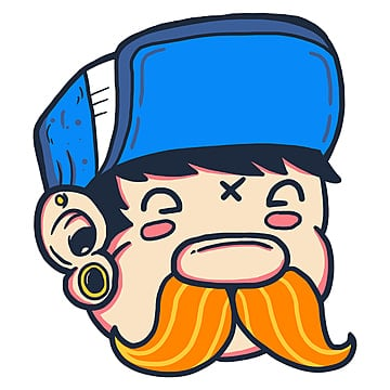 a funny mustache, Artwork, Cartoon Design, Cartoon PNG and PSD
