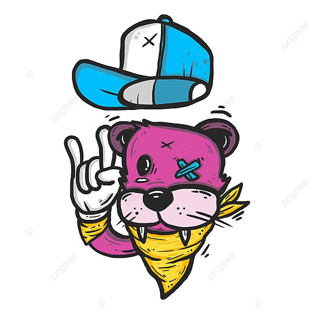 Cool Cartoon Animals Character Graffiti Graffiti Cartoon Design