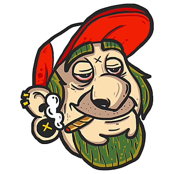 smoking cartoon characters, Character Graffiti, Graffiti, Cartoon Design PNG and PSD