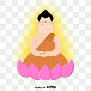Buddhas Birthday Halo Lotus Buddha, Buddhas Birthday, Buddha, Halo PNG and PSD