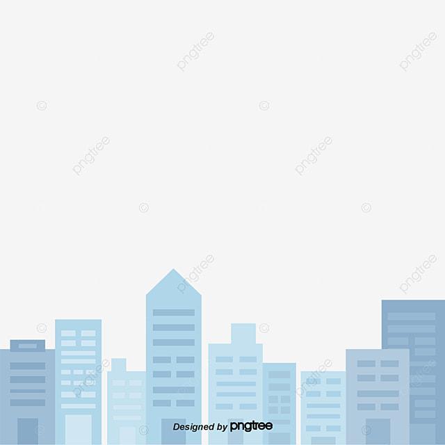 Gambar Bangunan Kartun Biru Pemandangan Kota Gedung Bertingkat Png Transparan Clipart Dan File Psd Untuk Unduh Gratis