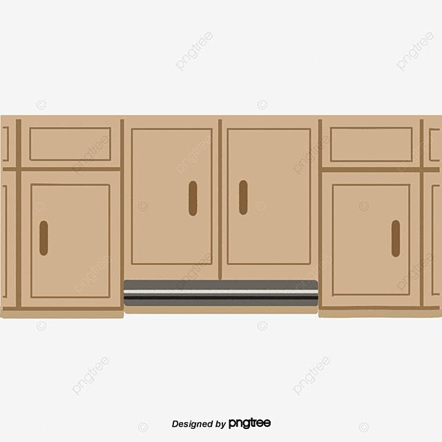 Cartoon Cabinet Cartoon Kitchen Scenes Png Transparent Clipart