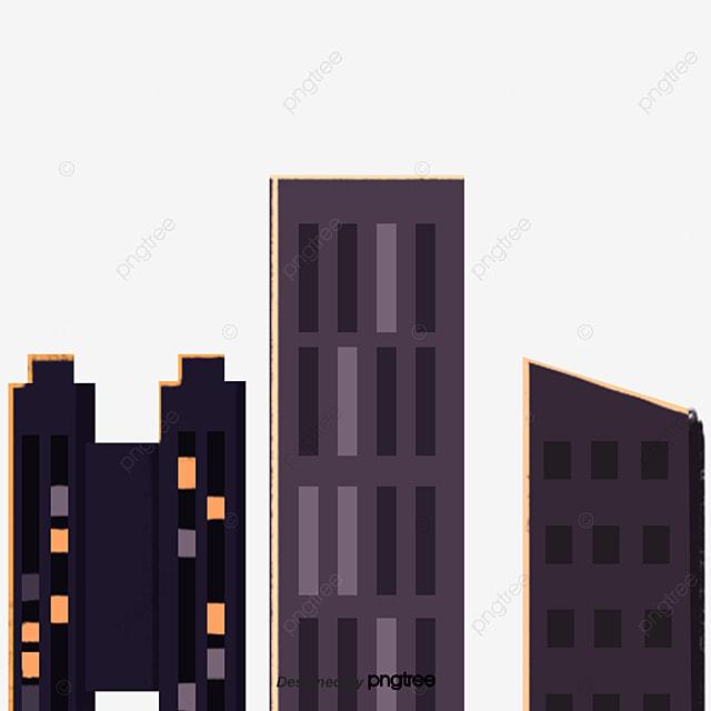 Gambar Bangunan Kota Kartun Kartun Adegan Kota Png Transparan Clipart Dan File Psd Untuk Unduh Gratis