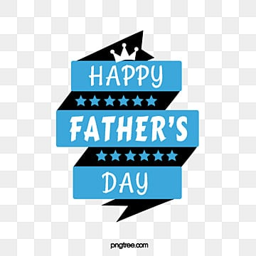 blue and black fathers day font element illustration, Typeface, Stars, Banner PNG and PSD