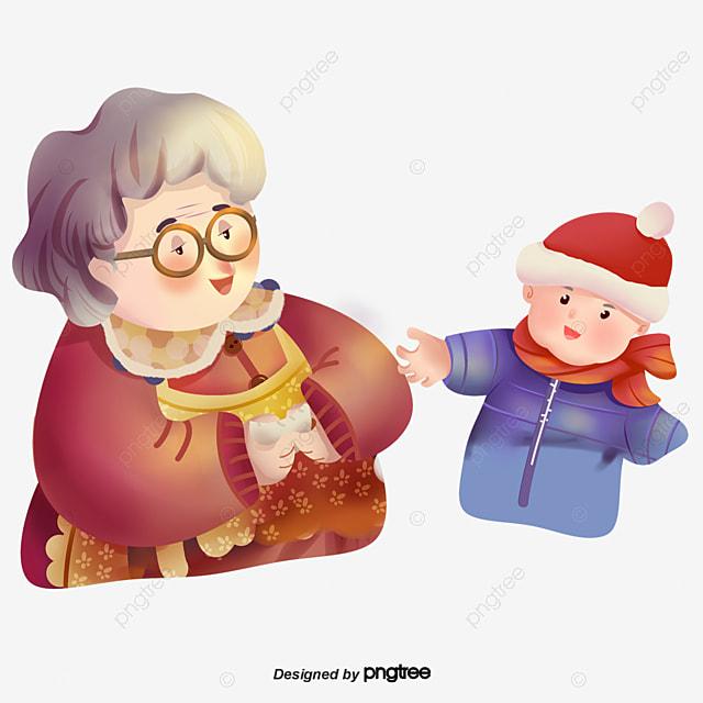 Прикольные картинки про бабушку с внуками, надписью время покажет