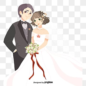 Newlyweds transparent background PNG cliparts free download | HiClipart
