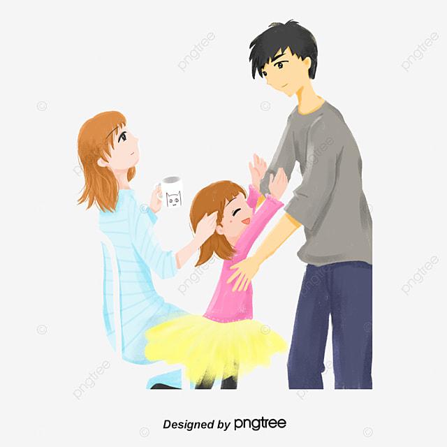 Ayah Keluarga Ibu Anak Anak Dan Anak Perempuan Keluarga Png Transparan Gambar Clipart Dan File Psd Untuk Unduh Gratis