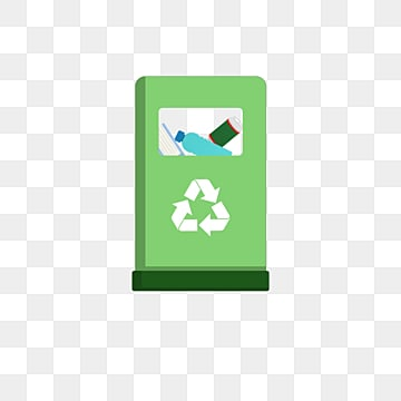Green recyclable trash can, Recyclable, Garbage, Trash PNG and PSD
