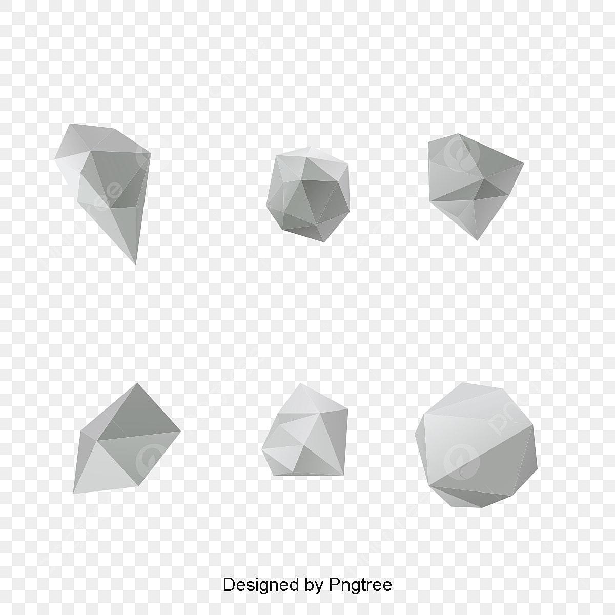 أشكال هندسية مجردة التصميم نبذة مختصرة 3d Png وملف Psd للتحميل مجانا