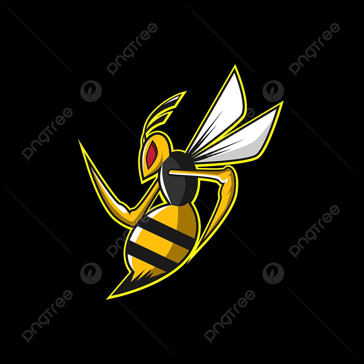 Bee Esports Logo, Esport, Illustration, Logo PNG and Vector