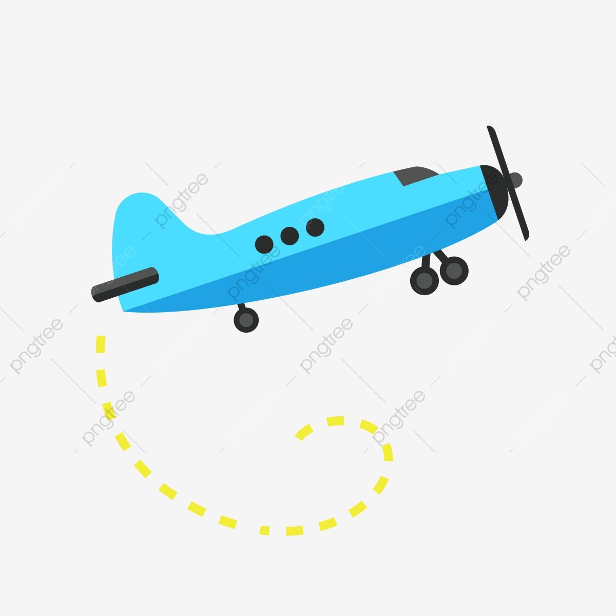 Blue Airplane Clipart Blue Airplane Clipart Png And Vector With