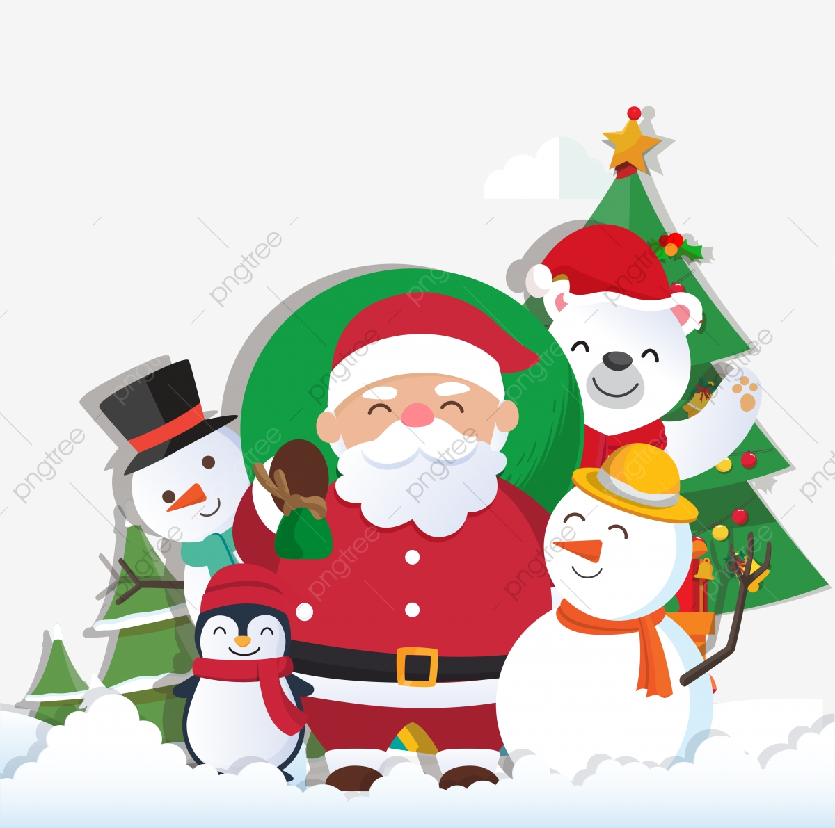 christmas background with santa claus and merry christmas christmas santa claus png and vector with transparent background for free download https pngtree com freepng christmas background with santa claus and merry christmas 3724399 html